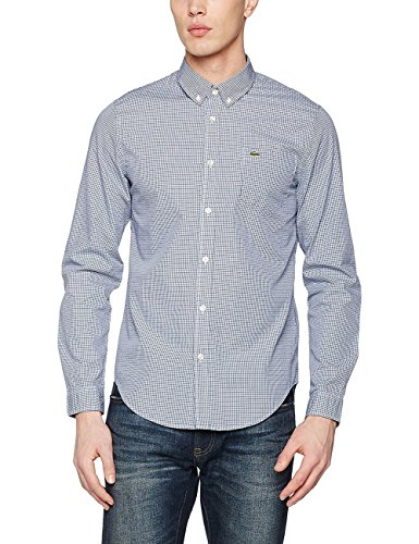 Lacoste Ch3949, Chemise Casual Homme blue