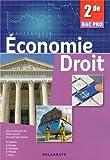 Economie-Droit 2e Bac Pro
