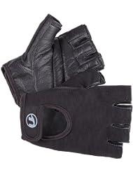Ultrasport Grip - Guantes de fitness y training unisex, color negro, talla L