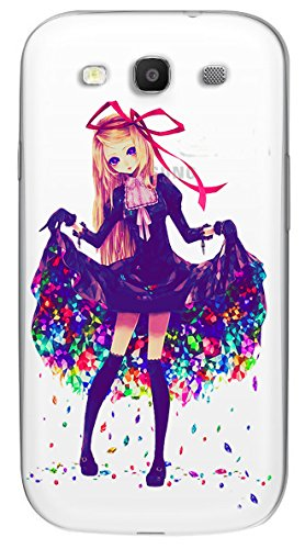 Snooky Printed transparent Silicone Back Case Cover For Samsung Galaxy S3  available at amazon for Rs.299
