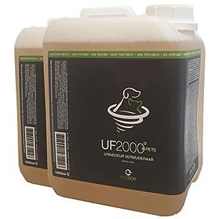 RESORBB - Uringeruchentferner - UF 2000 2x2,5 ltr. EIN geruchsneutraler, effizienter Haustierurin-Geruchsentferner, der Urin wirksam den Kampf ansagt.