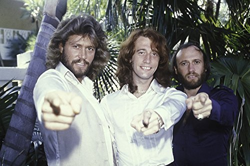 The Bee Gees Pointing Photo Print (25,40 x 20,32 cm)