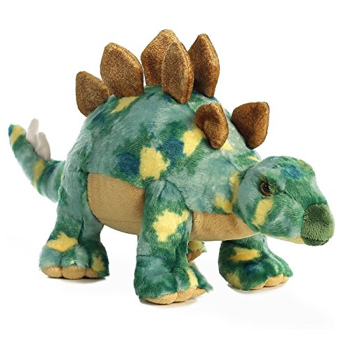Aurora World 30797Stégosaure en peluche pour chien 43cm