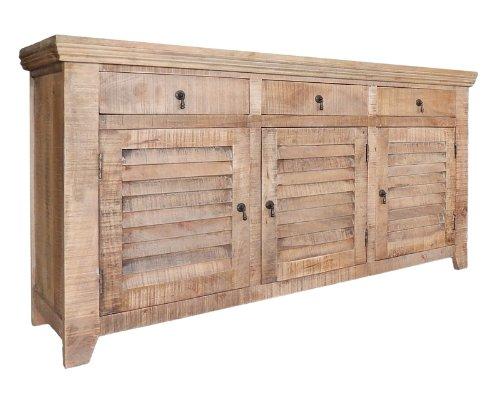 Chester Sideboard Lowboard Landhaus Anrichte Vintage Recycelt Mangoholz