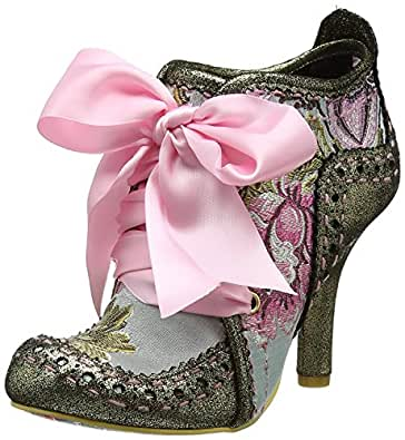 Irregular Choice Damenschuhe Abigail's Third Party Gold Pink Damenschuhe Choice Stiefel 40 8c5094
