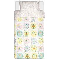 IKEA funda de edredón y funda de almohada (S), hada, luz rosa