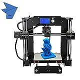 Anet A6 Kits de Impresora 3D Repulsión I3 Bricolaje Pantalla Lcd Con 16 Gb Tamaño Impresión 220*220*250MM Apoyo Abs / Pla / Hip / Pp / Filamento Madera