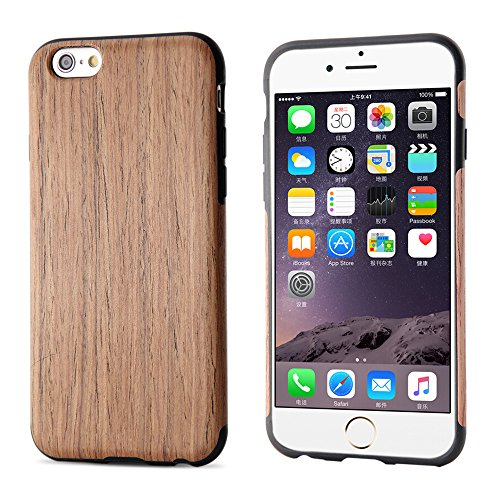 "BELK Apple iPhone 6 / 6S Case - ARTISAN MASTER Series [Hartholz + PC Hybrid] Tough Holz Case Slim Bumper Schutzhlle fr Apple iPhone 6 & iPhone 6S (4.7 "") - Limba cherry"