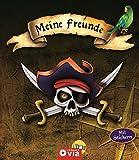 Meine Freunde: Piraten: Freundebuch mit Stickern