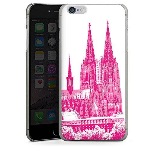 Apple iPhone X Silikon Hülle Case Schutzhülle Köln Dom Kirche Kölner Dom Hard Case anthrazit-klar