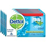 Dettol Cool Soap, 75g (Pack of 4)