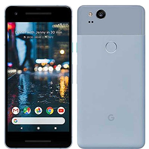 "Google Pixel 2 5"" Single SIM 4G 4GB 64GB 2700mAh Black, Blue - Smartphones (12.7 cm (5""), 64 GB, 12.2 MP, Android, 8, Black, Blue)"