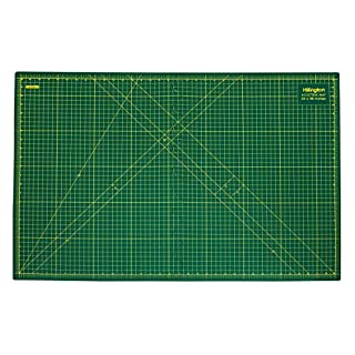 Hillington A1 Cutting Mat Size Non Slip Printed Grid Design Craft Design Hobby Non-Slip Quality Professional Squared Metric Grid (Folding)