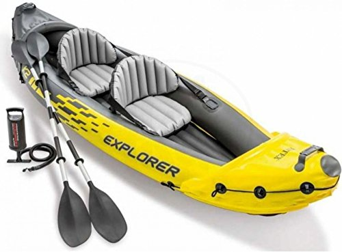 Intex Kayak Canoa hinchable Explorer K2 2 plazas