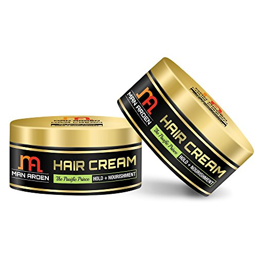 Man Arden Hair Cream - The Pacific Prince (Hold + Nourishment) 50gm - No Mineral Oil/Sulphate (Pack Of 2)