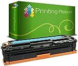 Printing Pleasure CF211A 131A 6271B002 Cyan Premium Toner kompatibel für HP Laserjet Pro 200 Color M251n, M251nw, MFP M276n, MFP M276nw, Canon LBP-7100CN, LBP-7110CW, MF-8230CN, MF-8280CW