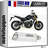 ARROW POT D ECHAPPEMENT APPROUVE THUNDER ALUMINIUM MT09 MT-09 2019 19 71812AO