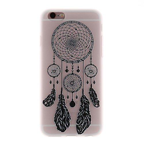 iPhone 6 Hülle, Voguecase Silikon Schutzhülle / Case / Cover / Hülle / TPU Gel Skin für Apple iPhone 6/6S 4.7(Lace Teppich 06) + Gratis Universal Eingabestift Lace Campanula