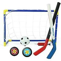 Mini Hockey sobre hielo objetivo de fútbol Meta y bola Set calle Hockey