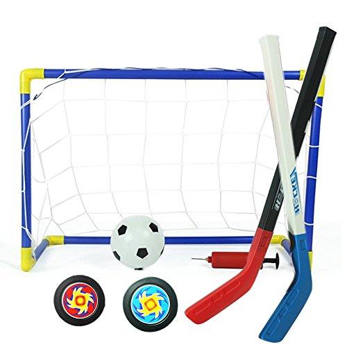 Set Fußballtor und Ball Set Street Hockey ()