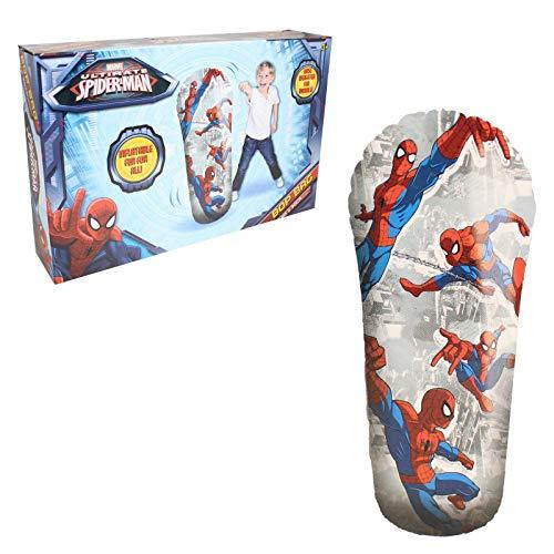 Marvel Spiderman Ultimate aufblasbarer Boxsack mit 33 cm Durchmesser