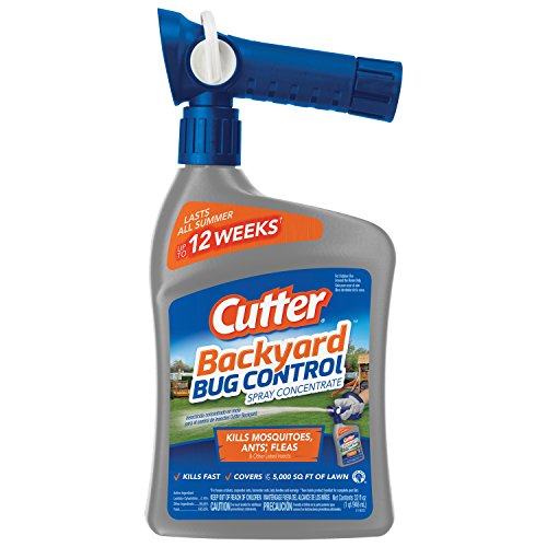 Cutter Backyard Bug Control Concentrate 32oz Hose Spray Kills Mosquitoes & Ants