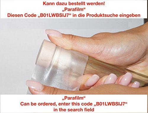 20 pezzi 250 ml contenitore di vetro, bottiglia di vetro con tappo...