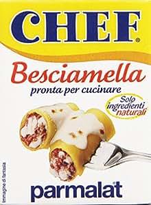 Chef besciamella pronta per cucinare solo ingredienti for Cucinare per 300 persone