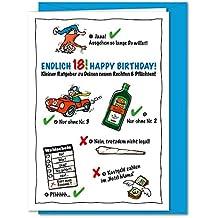 Suchergebnis Auf Amazon De Fur Geburtstagskarte 18 Lustig