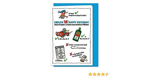anniversaire Carte danniversaire DIN A4/avec enveloppe carte /à rabat F/élicitations Happy Birthday