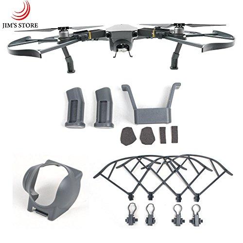 mavic-accessoires-set-lens-hood-landing-gear-garde-hlice-pour-dji-mavic-pro-3pcs-set-gris