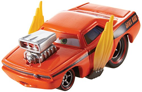 Mattel Disney Pixar Cars Diecast Snot Rod with Flames -