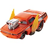 Disney/Pixar Cars Snot Rod with Flames Diecast Vehicle by Mattel