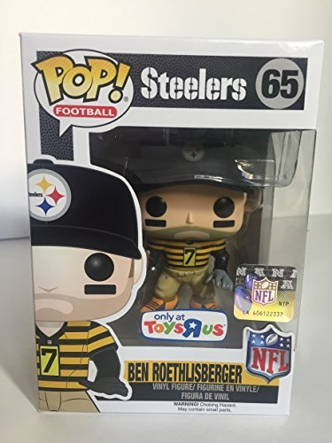 oethlisberger Toys R Us Exclusive Steelers Throw Back Jersey Figure by FunKo ()