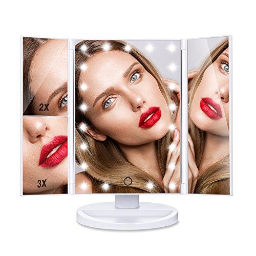 [Regalo] HAMSWAN Espejo de Maquillaje Tríptico de...