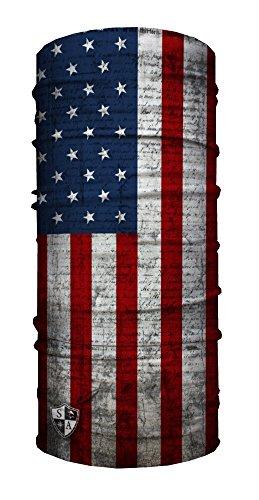 SA Face Shield Multi Function Mask Scarf Bandana American Flag - THE ORIGINAL -