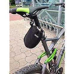 Neopreno Bolsa para sillín bicicleta bolso Bike Flickzeug MTB Cube Trek Ghost Rotwild
