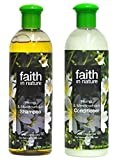 Faith In Nature Hemp & Meadowfoam Shampoo 400ml & Conditioner 400ml Duo