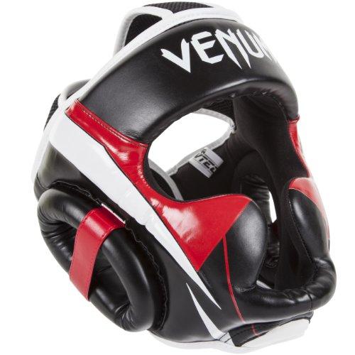 Venum Erwachsene Helm Elite, Black/Red/Grey, One Size, EU-0987