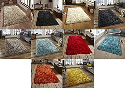 Polar Hand Tufted Thick 8.5cm Shaggy Pile Rug Soft Luxurious Large Mat (Various Colours and Sizes) produced by Think Rugs - quick delivery from UK.