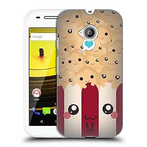 Head Case Designs Pop-Corn Kawaii Série 1 Étui Coque D'Arrière Rigide Pour Motorola Moto E (2nd gen)