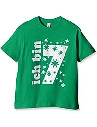 Coole-Fun-T-Shirts Ich Bin 7 Jahre, T-Shirt Fille