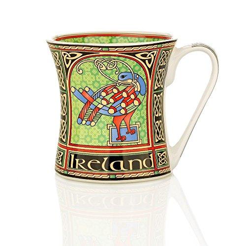 Eburya Celtic Peacock Mug - Kaffeebecher mit einem keltischem Pfau