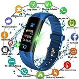 TONGTONG Smart Sport Watch podómetro Monitor de Ritmo cardíaco Sangre oxígeno Fitness Tracker Smart Wristband Reloj Deportivo Nadar Impermeable