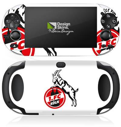 Sony PS Vita Case Skin Sticker aus Vinyl-Folie Aufkleber 1. FC Köln Fanartikel Fußball