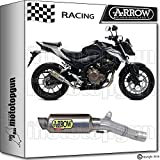 ARROW KIT AUSPUFF DB-KILLER GP2 TITAN RACE HONDA CB 500-F 2016 16 71029GP + 11009DB