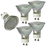 5x mumbi XQ-Lite LED-Lampe GU10 MR16 3W / 3000 Kelvin / warmweiß / 230 Lumen / Energieklasse A+ (ersetzt GU10 MR16 25 Watt Glühbirne)