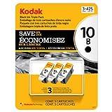 Kodak 10 Series Black Ink Cartridge - 3 Pack by Kodak