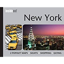 New York InsideOut Travel Guide: Handy, Pocket Size New York City Guide with 2 Pop-up Maps