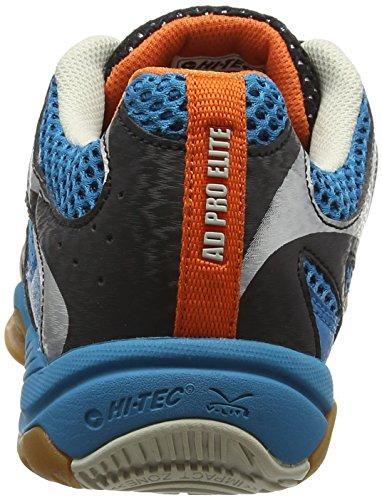 Hi-Tec Ad Pro Elite, Chaussures de Fitness Homme Bleu (Electric/Black/Orange 031)